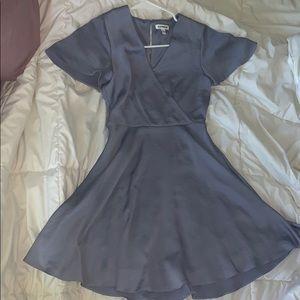 Express lavender dress